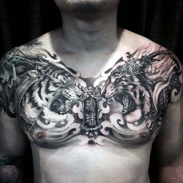 75 Schöne Tattoos für Männer - Masculine Ink Design-Ideen