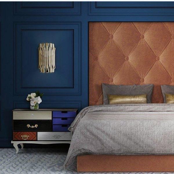 Top 50 Besten Navy Blue Schlafzimmer Design-Ideen