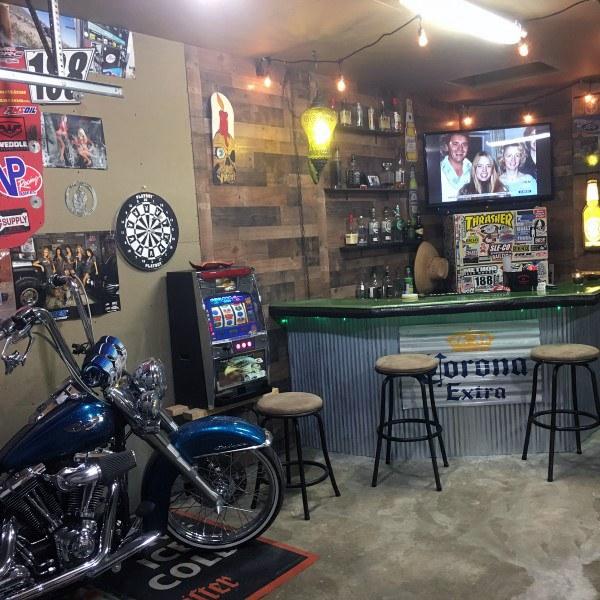 Cool Cantina Workshop Designs: Top 50 Besten Garage Bar Ideen
