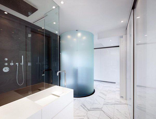 Top 70 besten coolen Badezimmer - Home Spa Design-Ideen