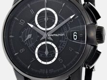Hamilton Rail Road Chronograph Zifferblatt Uhr