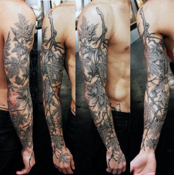 40 Camo Tattoo Designs für Männer - Cool Camouflage-Ideen