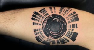 80 Kamera Tattoo Designs für Männer - Fotografie-Tinten-Ideen