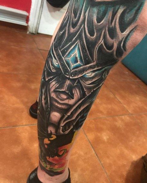 70 World Of Warcraft Tattoo-Designs für Männer - Videospiel-Tinten-Ideen