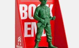 Grüne Armee Homeguard Soldat Buch Ende