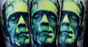 Top 80 besten Frankenstein Tattoos für Männer - Monster Design-Ideen