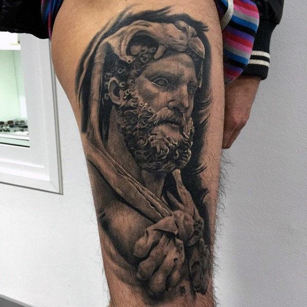 75 Hercules Tattoo Designs für Männer - Heroic Ink Ideen
