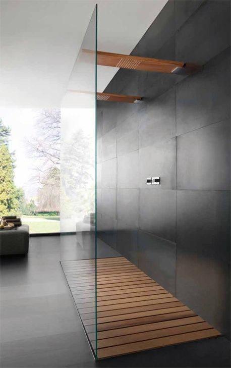 Top 50 besten modernen Dusche Design-Ideen - zu Fuß in Luxus