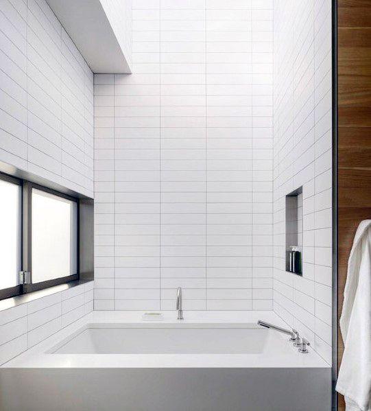 Ideen Feuchtraumboden Für Badezimmer Bodenbelag Abdichten Stil: Top 60 Besten Badewanne Fliesen Ideen