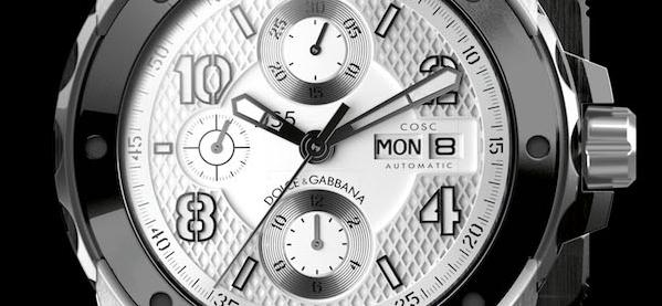 Dolce & Gabbana DS5 Herren Chronograph Uhr