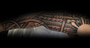70 Filipino Tribal Tattoo Designs für Männer - Heilige Tinte Ideen
