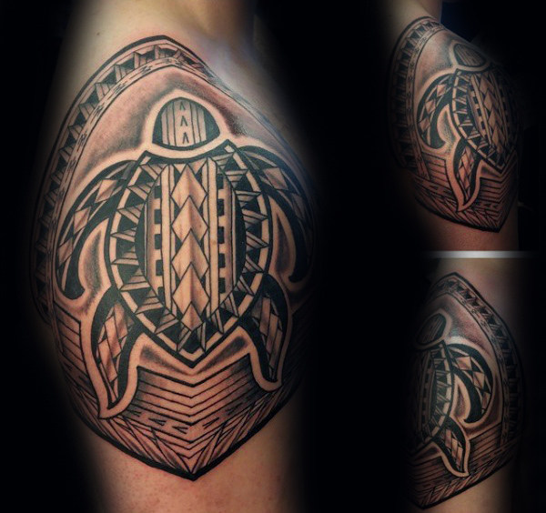 70 Tribal Turtle Tattoo Designs für Männer - Manly Ink Ideen