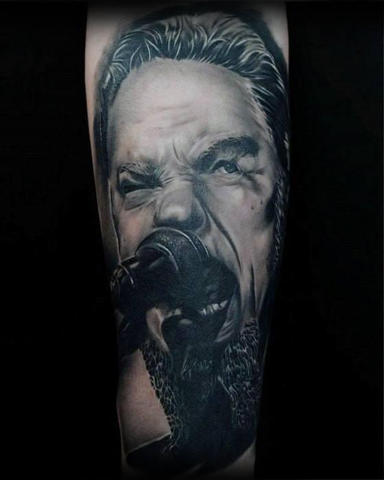 60 Metallica Tattoos Designs für Männer - Heavy Metal Ink Ideen