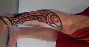 30 Tribal Fish Tattoo Designs für Männer - Cool Aquatic Ink Ideen