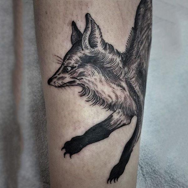 100 fox tattoo designs f r m nner schlaue tinte inspiration mann stil tattoo. Black Bedroom Furniture Sets. Home Design Ideas
