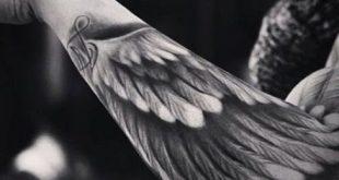 Top 100 Best Wing Tattoos für Männer - Designs, die sich erheben