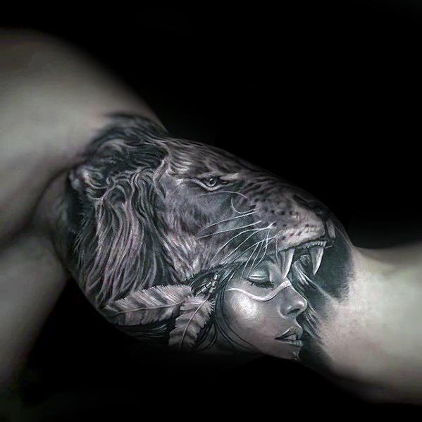 70 unglaubliche Tattoos für Männer - Maskuline Design-Ideen