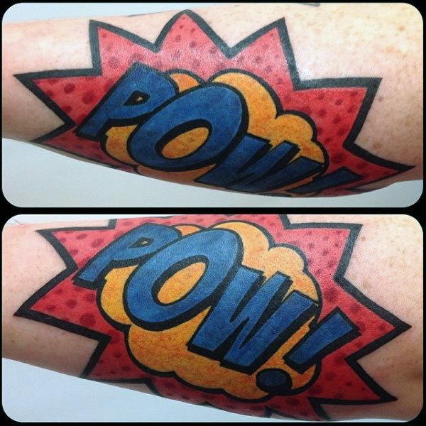 Top 60 besten Pop Art Tattoo Designs für Männer - Bold Ink Ideen