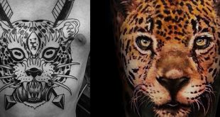 60 Leopard Tattoos für Männer - Designs mit Stärke und Kraft