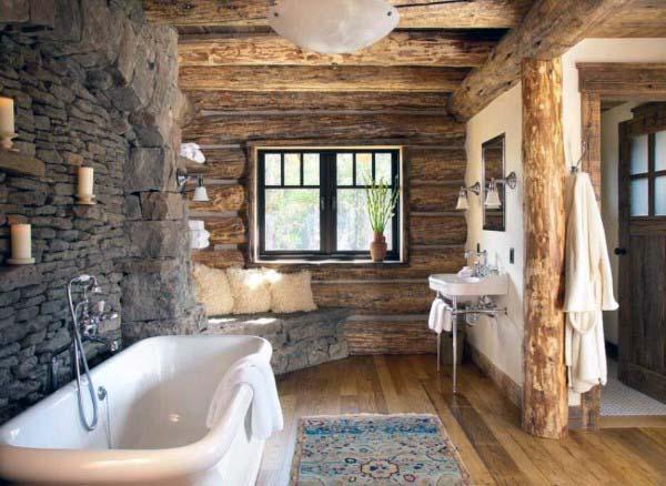 Top 70 besten rustikalen Badezimmer Ideen - Vintage Designs - Mann ...