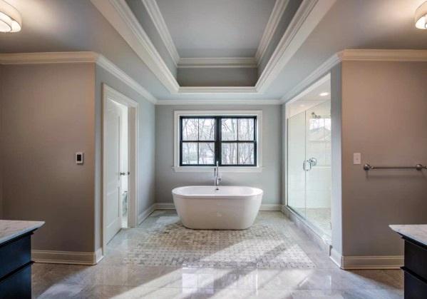 Top 50 besten Trey Decken Ideen - Overhead Interior Designs