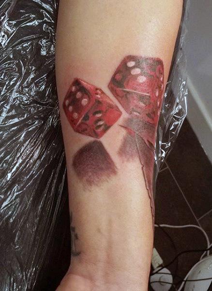 75 Würfel Tattoos Für Männer Das Spieler Paradies Bekannt Als Das