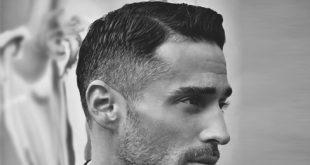 60 Old School Haircuts für Männer - Polierte Stile der Vergangenheit