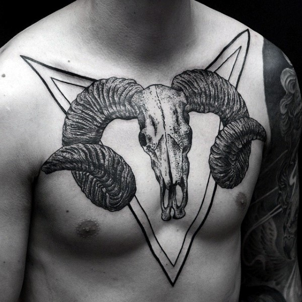 100 Ram Tattoo Designs für Männer - Bighorn Sheep Ink Ideen